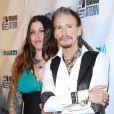 Mia Tyler et Steven Tyleraux 60 ans d'Howard Stern à New York le 31 janvier 2014