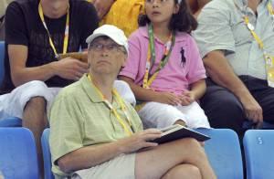 PHOTOS : le milliardaire Bill Gates aux J.O., médaille d'or du sans-amis!