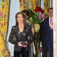 La princesse Marie a brillé lors d'un dîner de gala à l'ambassade de France à Copenhague le 5 février 2014.