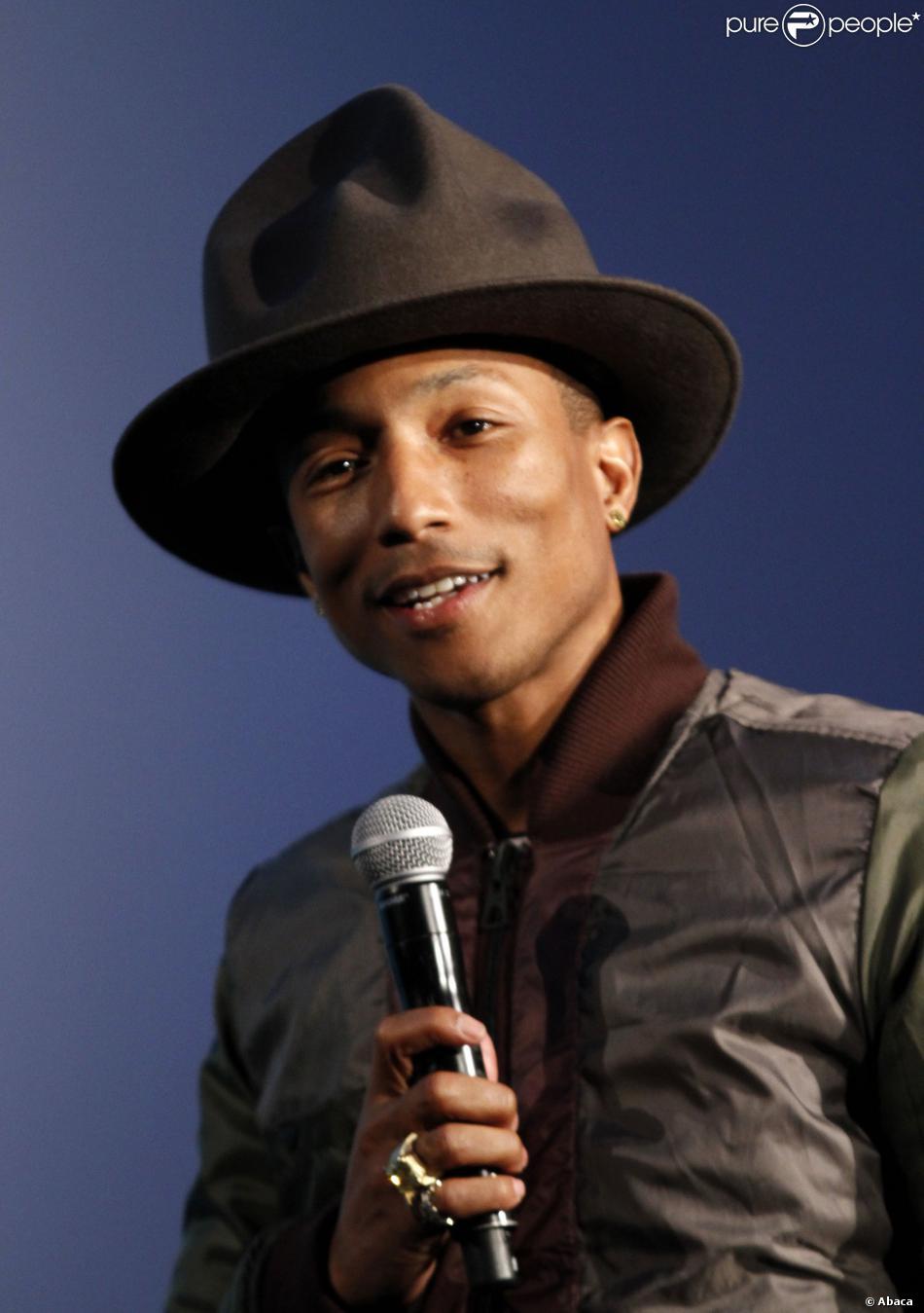 Pharrell Williams à New York le 8 février 2014.
