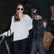 Angelina Jolie : Sans Brad pour la Saint Valentin, mais avec Maddox, trop stylé