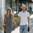 Teresa Palmer et Mark Webber à West Hollywood, Los Angeles, le 31 mai 2013.