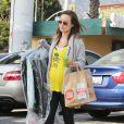 Olivia Wilde enceinte dans les rues de West Hollywood, le 27 janvier 2014