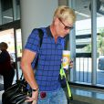 Joe Simpson à l'aéroport de Los Angeles, le 7 août 2013.