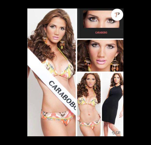 Génesis Carmona, Miss Tourisme de l'Etat de Carabobo, a été tuée d'une balle dans la tête, mardi 18 février 2014 à Valencia, au Venezuela.