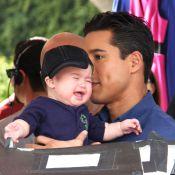 Mario Lopez : Son jeune fils le met dans l'embarras en plein tournage