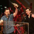 Arctic Monkeys a été récompensé à la cérémonie des NME Awards, à Londres, le 26 février 2014.