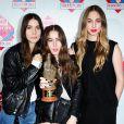Haim à la cérémonie des NME Awards, à Londres, le 26 février 2014.