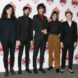 The Horrors à la cérémonie des NME Awards, à Londres, le 26 février 2014.