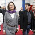 Ségolène Royal et Manuel Valls, au congrès du Parti Socialiste, à Reims, le 16 novembre 2008.