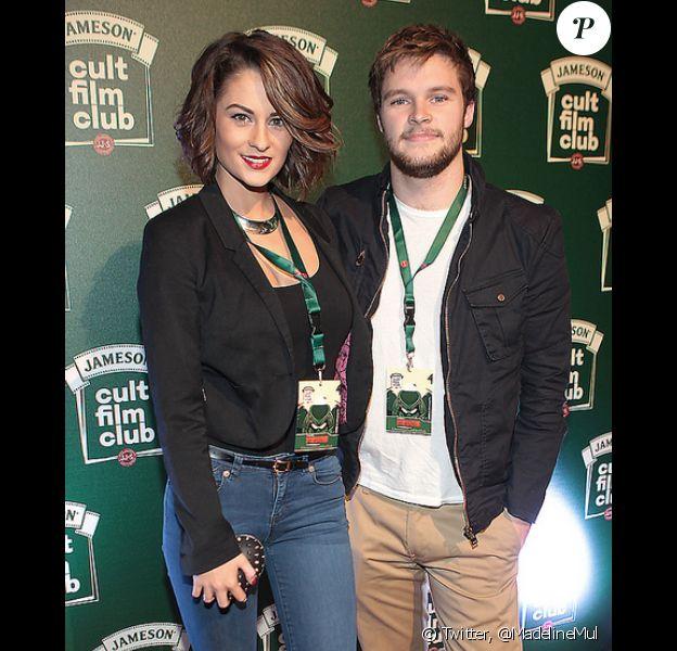 Jack Reynor et sa fiancée Madeline Mulqueen en novembre 2013.