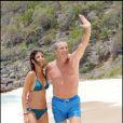 Jean-Claude Darmon et sa fiancée Hoda Roche