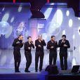 Les Enfoirés en concert à Strasbourg, le 20 janvier 2014.