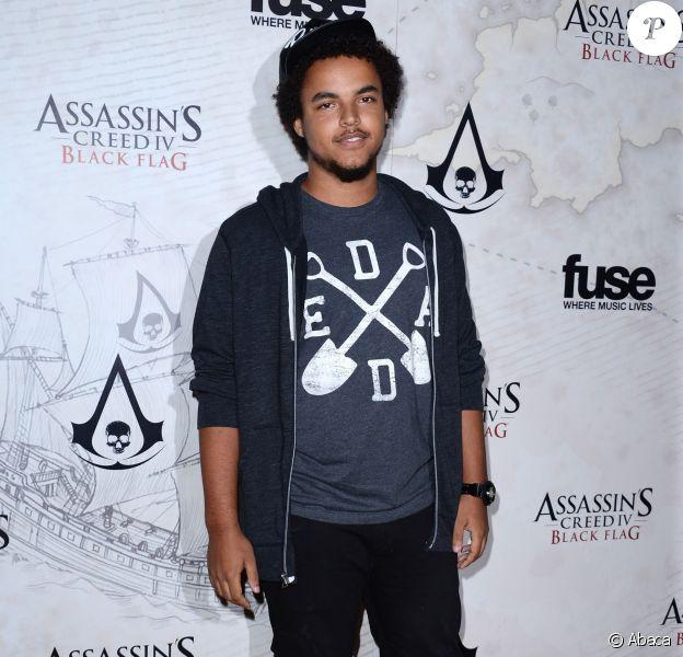 Connor Cruise lors de la soirée Assassin's Creed IV Black Flag à Los Angeles le 22 octobre 2013