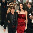 Mick Jagger et L'Wren Scott à Los Angeles, le 5 mars 2006.