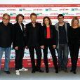 Karl Baumgartner, Kristoffer Joner, Pal Sletaune, Noomi Rapace, Fernando Velazquez et Turid Oversveen à Rome, en octobre 2011.