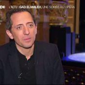 Gad Elmaleh triomphe à l'Opéra Garnier : Moment d'émotion face à ses enfants...