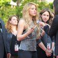 Shakira célèbre la sortie de son nouvel album lors d'unévénement iHeartRadio à Burbank, le 24 mars 2014.