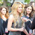 Shakira fête la sortie de son nouvel album à l'occasion d'unévénement iHeartRadio à Burbank, le 24 mars 2014.