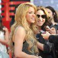 Shakira fête la sortie de son album lors d'un événement iHeartRadio à Burbank, le 24 mars 2014.