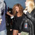 Beyoncé et Gwyneth Paltrow au concert de Jay-Z à Hyde Park, Londres, le 4 juilet 2010.