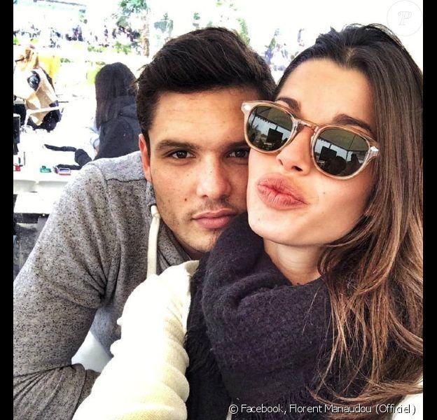 Florent Manaudou a posté le 30 mars des photos de lui et de sa chérie Fanny Skalli lors du GPA Jump Festival de Cagnes