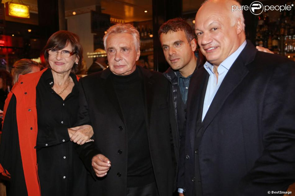 Michel sardou et sa femme anne marie perier steve suissa et eric emmanuel schmitt g n rale de - Eric emmanuel schmitt et sa compagne ...