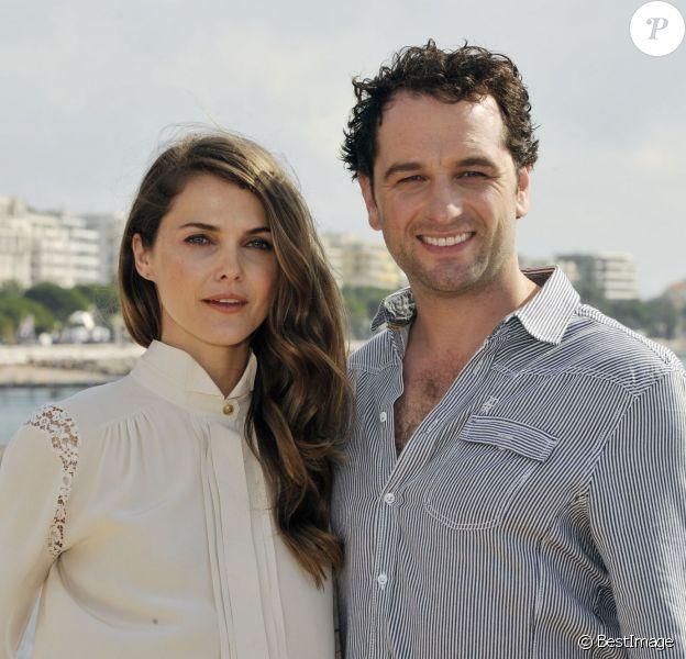 Keri Russell et Matthew Rhys au MIPCOM 2012 (Marché International des Contenus audiovisuels) à Cannes le 8 octobre 2012