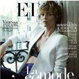 Vanessa Paradis en couverture du magazine The Edit - avril 2014