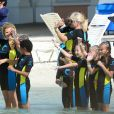 - Exclusif - Le top Heidi Klum passe ses vacances avec ses enfants à Paradise Island aux Bahamas le 26 mars 2014.