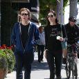 Paul McCartney et sa femme Nancy Shevell à Beverly Hills Los Angeles, le 4 avril 2014.