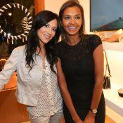 Karine Le Marchand et Fabienne Carat : Deux brunes superbes et complices à Nice