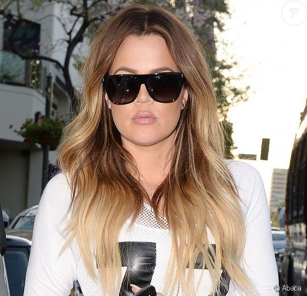 Khloé Kardashian à Los Angeles, le 8 avril 2014.