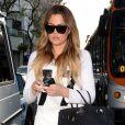 Khloé Kardashian dans les rues de Studio City, le 8 avril 2014.