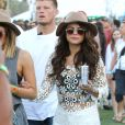 Selena Gomez lors du 1er jour du Festival de Coachella à Indio, le 11 avril 2014.