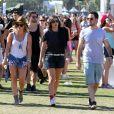Hilary Duff, Mike Comrie lors du 1er jour du Festival de Coachella à Indio, le 11 avril 2014.