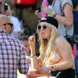 Ellie Goulding lors du 1er jour du Festival de Coachella à Indio, le 11 avril 2014.