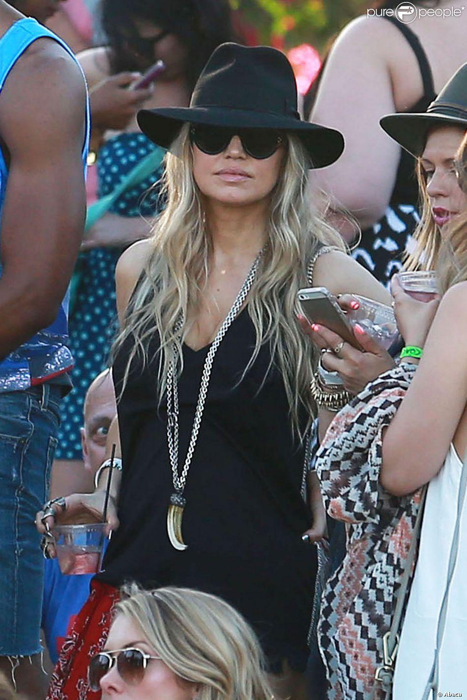 Fergie lors du 1er jour du Festival de Coachella à Indio, le 11 avril 2014.