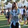 Jared Leto lors du 1er jour du Festival de Coachella à Indio, le 11 avril 2014.