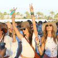 Alessandra Ambrosio lors du 1er jour du Festival de Coachella à Indio, le 11 avril 2014.