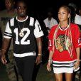 P. Diddy et sa fiancée Cassie Ventura lors du 1er jour du Festival de Coachella à Indio, le 11 avril 2014.