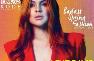 Lindsay Lohan : Sexy en cuir pour KODE et rayonnante en famille à Coachella