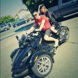 Lindsay Lohan et son frère Michael, à Coachella, le 13 avril 2014.