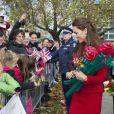 Kate Middleton à Christchurch, en Nouvelle-Zélande, le 14 avril 2014.