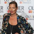 Kate Moss lors de la cérémonie des Laurence Olivier Awards 2014 au Royal Opera House à Londres, le 13 avril 2014.