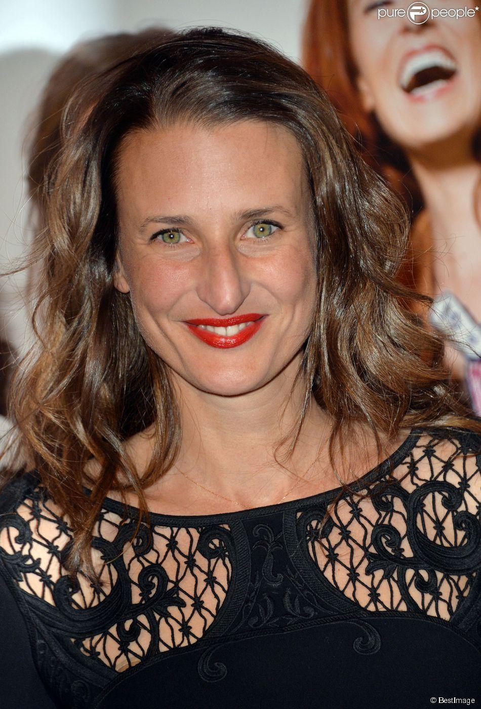 """Camille Cottin - Avant-première du film """"Les Gazelles"""" au Gaumont Opéra à Paris, le 24 mars 2014."""