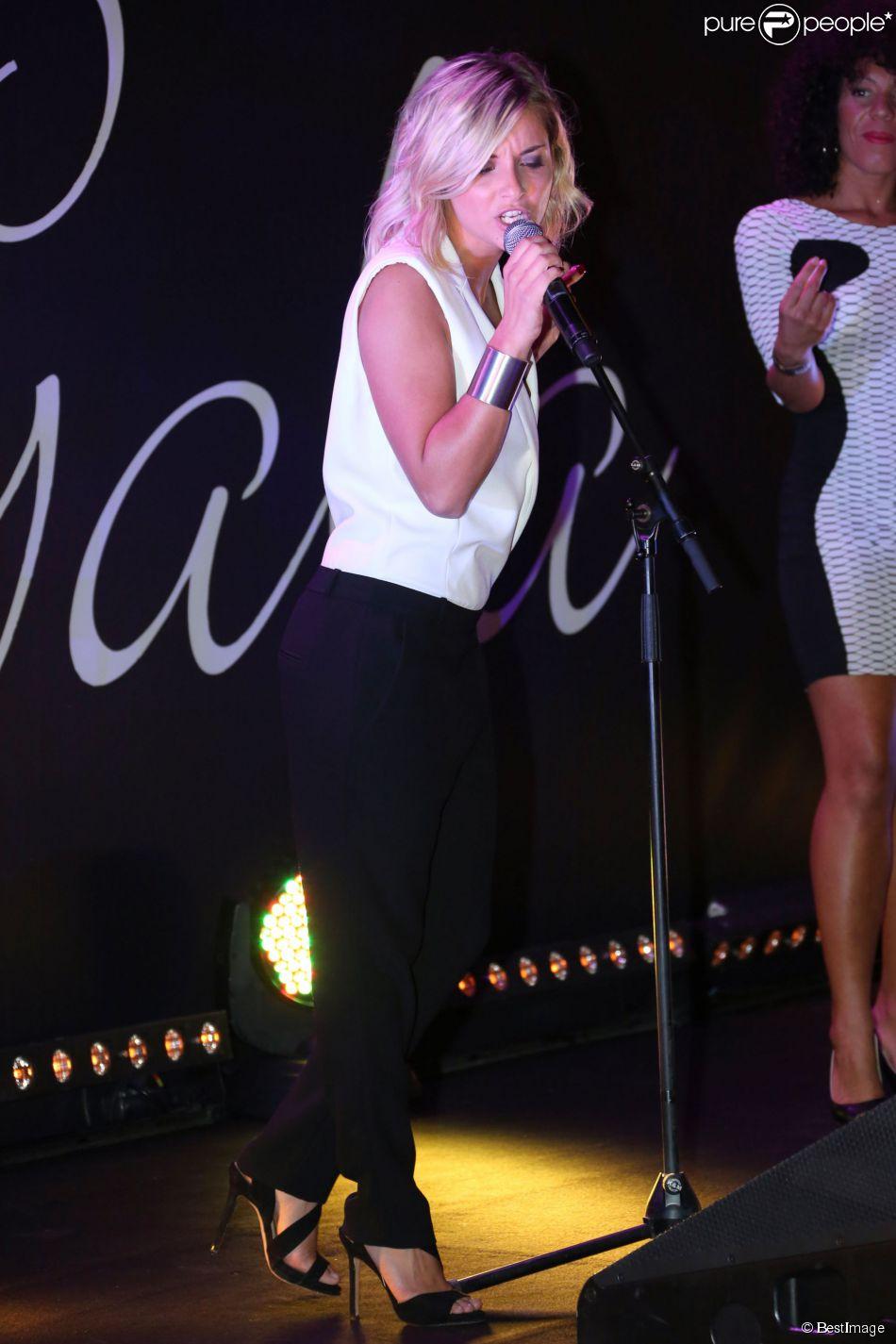 Priscilla Betti à Collonges le 26 septembre 2013.