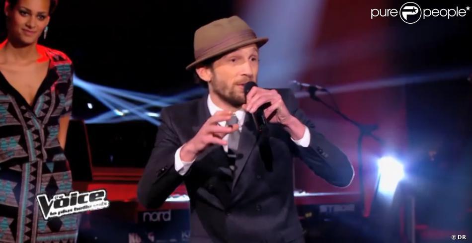 Igit lors de l'épreuve ultime dans The Voice 3 le samedi 22 mars 2014 sur TF1