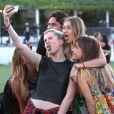Ireland Baldwin lors du festival de musique Coachella à Indio en Californie. Le 13 avril 2014.