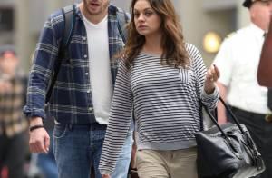 Mila Kunis, enceinte d'Ashton Kutcher : Elle affiche enfin ses rondeurs !
